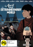 April and the Extraordinary World on DVD