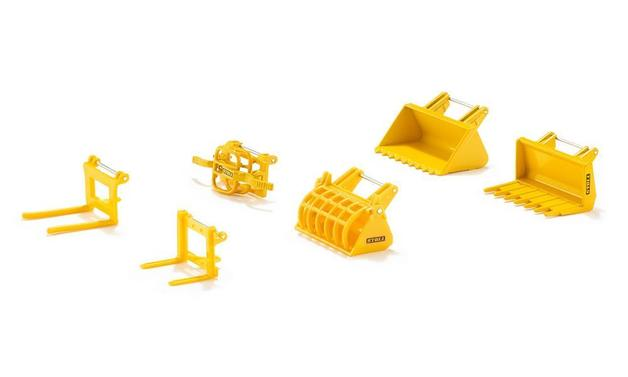 Siku: Accessories Set for Front Loaders - 1:32