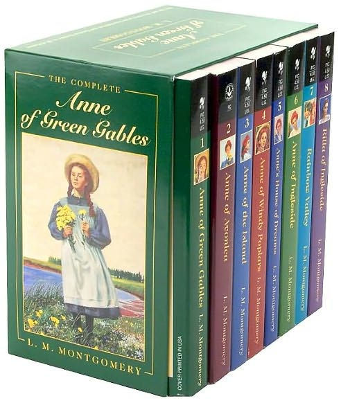 "The Complete ""Anne of Green Gables"" Boxed Set (8 Books) by Lucy Maud Montgomery"