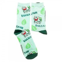 Pokemon Bulbasaur Womens Crew Socks
