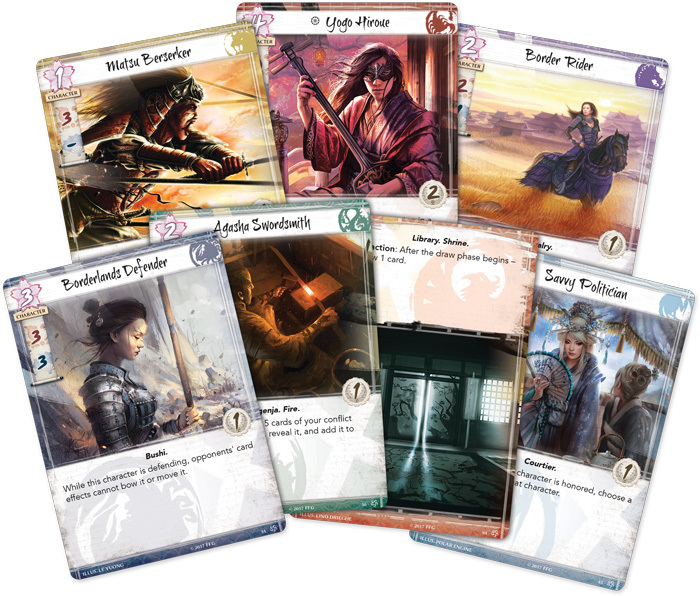 Legend of the Five Rings: The Card Game image