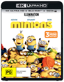 Minions on UHD Blu-ray