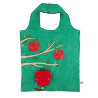 Happy Apple Foldable Shopping Bag