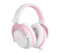 SADES M-Power Gaming Headset (Pink) for PS4