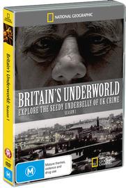 National Geographic - Britain's Underworld: Season 1 on DVD