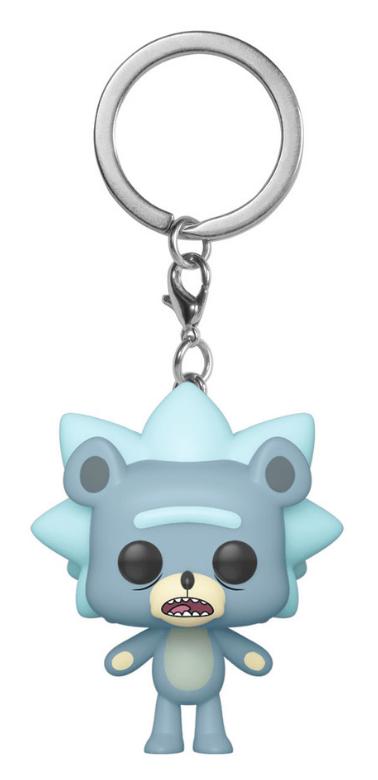 Rick & Morty: Teddy Rick - Pocket Pop! Keychain
