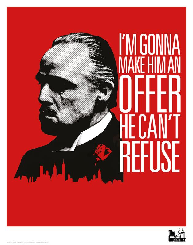 Godfather: Premium Art Print - Offer