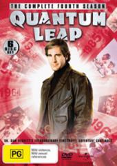 Quantum Leap - Complete Season 4 (6 Disc Set) on DVD