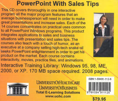 Powerpoint with Sales Tips by Daniel Farb image