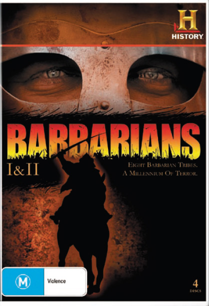 Barbarians - I & II  (4 Disc Set) on DVD