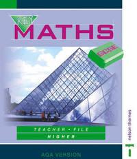 Key Maths GCSE: Teacher File: Higher: AQA Version by David Baker image