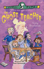 The Ghost Teacher by Tony Bradman image