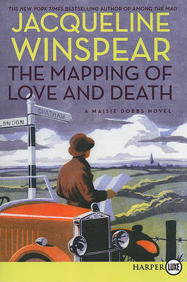 The Mapping of Love and Death by Jacqueline Winspear image