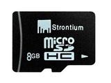 8GB Strontium Micro SD Basic Series with SD Adaptor