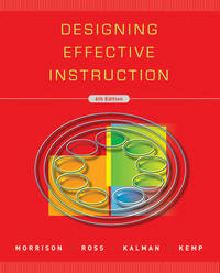 Designing Effective Instruction by Gary R. Morrison image