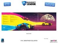 Rocket League Soundtrack(3LP) by Soundtrack / Various image