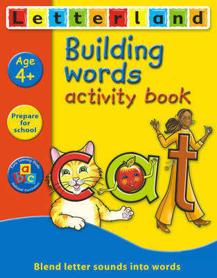 Building Words Activity Book by Gudrun Freese image