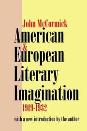 American and European Literary Imagination by John McCormick