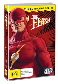 The Flash - The Complete Series (4 Disc Set) on DVD image
