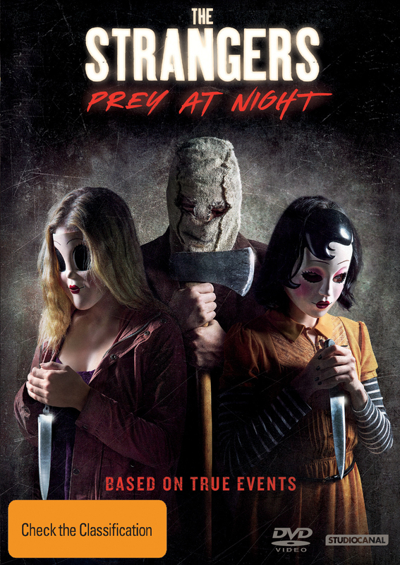 The Strangers: Prey At Night on DVD