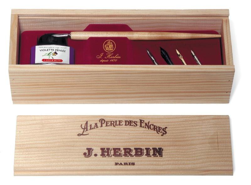 "J Herbin: Calligraphy Box Set ""La perle des encres"" image"