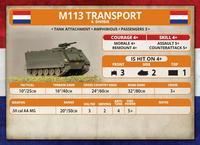 Team Yankee: Dutch M113 or M106 Platoon image