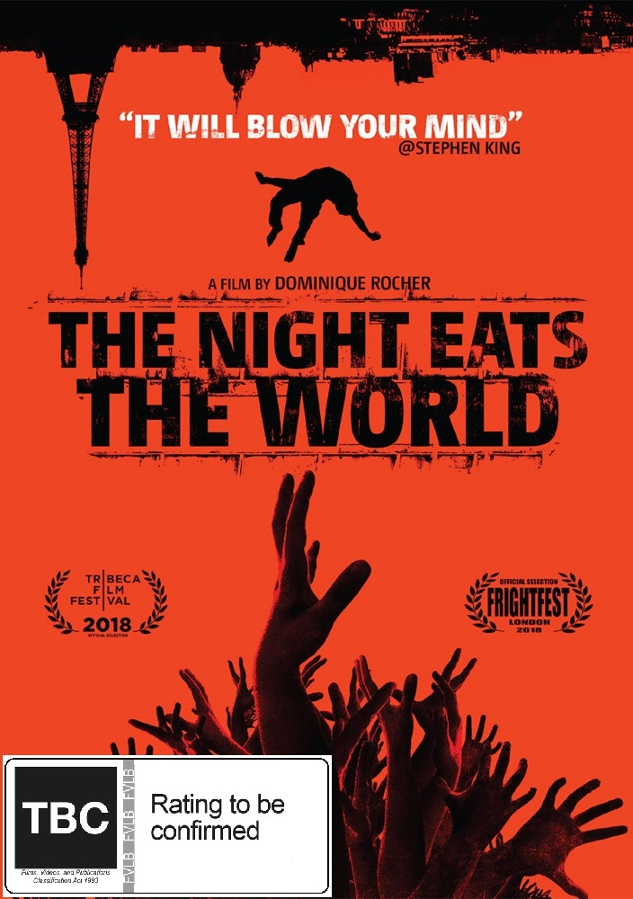 The Night Eats The World on DVD image