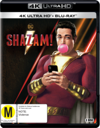 Shazam! on Blu-ray, UHD Blu-ray
