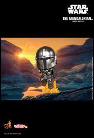 Star Wars: Mandalorian with Jetpack - Cosbaby Figure
