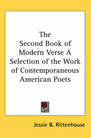 The Second Book of Modern Verse A Selection of the Work of Contemporaneous American Poets image
