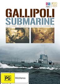 Gallipoli Submarine on DVD image