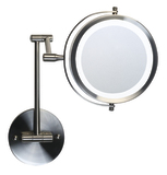 HoMedics LED Illuminated Make Up Mirror - Wall Mounted