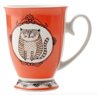 Maxwell & Williams: Purrfect Mug - Coral (290ml)