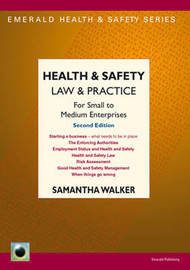 Health & Safety Law & Practice by Samantha Walker image