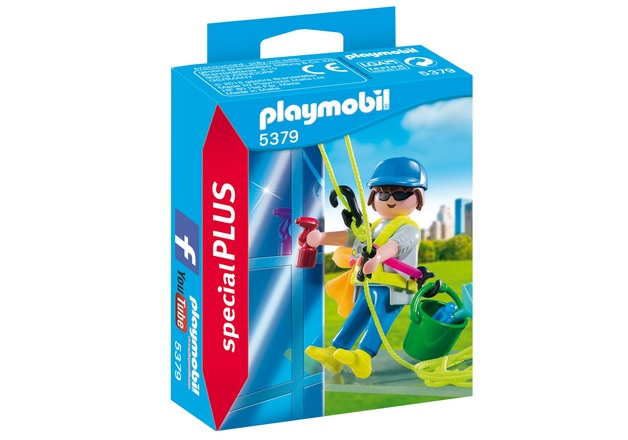Playmobil: Special Plus - Window Cleaner