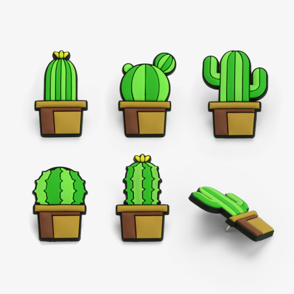 Cactus - Pushpins Set (Pack of 5) image
