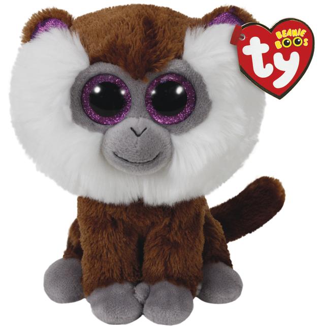Ty Beanie Boo: Tamoo Bearded Monkey - Small Plush