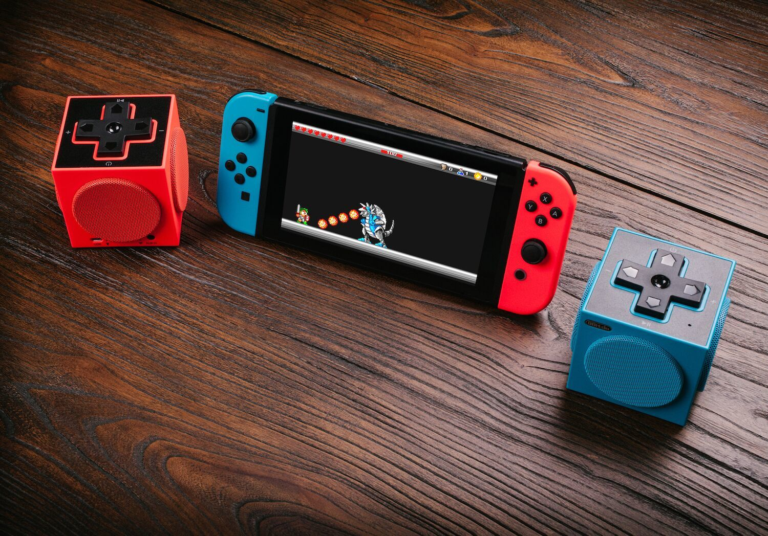 8Bitdo TwinCube Speakers for Nintendo Switch image