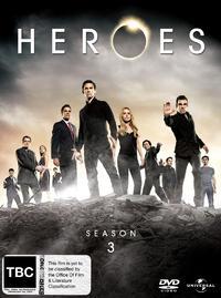 Heroes - Season 3 on DVD image