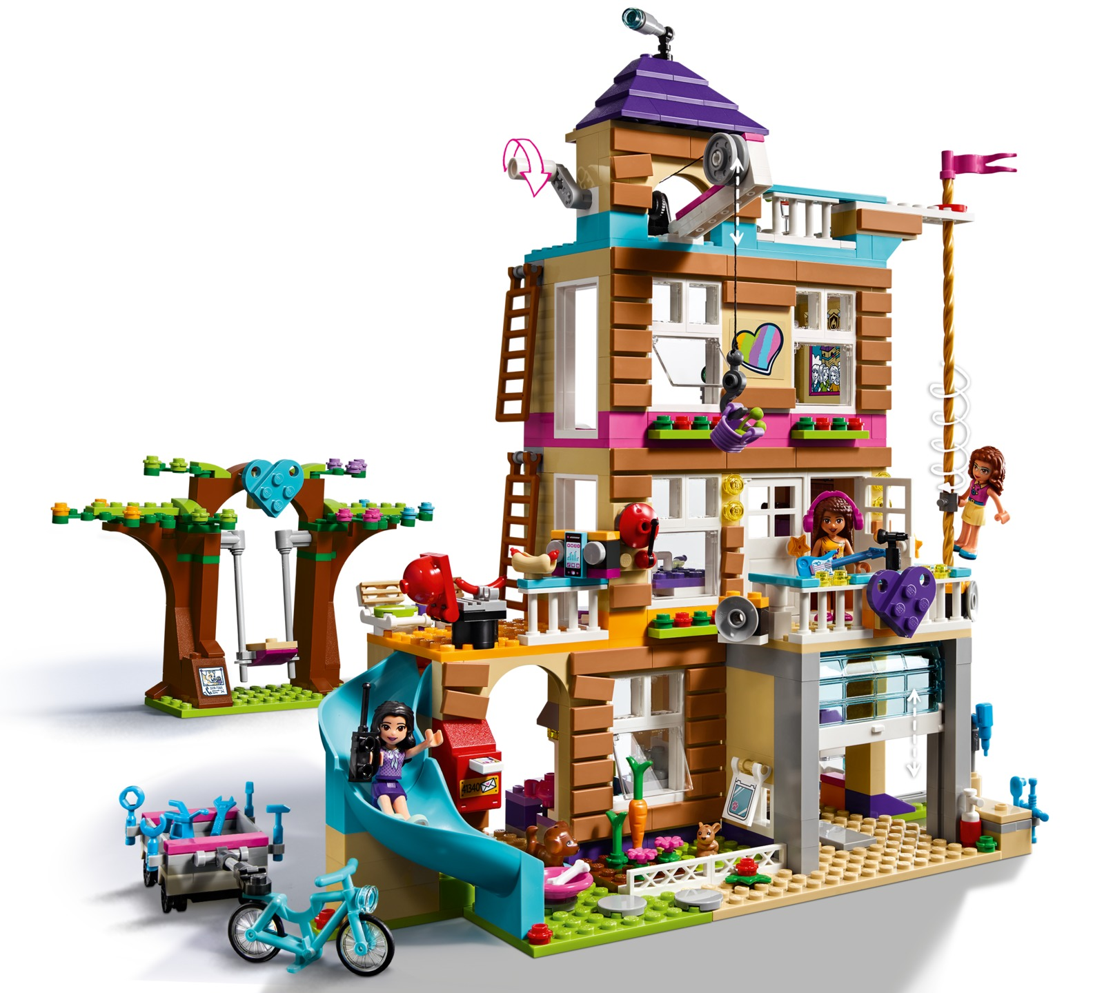 Lego Friends Friendship House 41340 Toy At Mighty Ape Nz