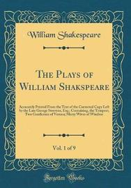 The Plays of William Shakspeare, Vol. 1 of 9 by William Shakespeare image
