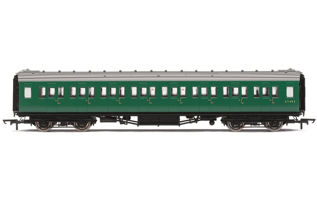 Hornby: BR, Maunsell Corridor Second, S1113S