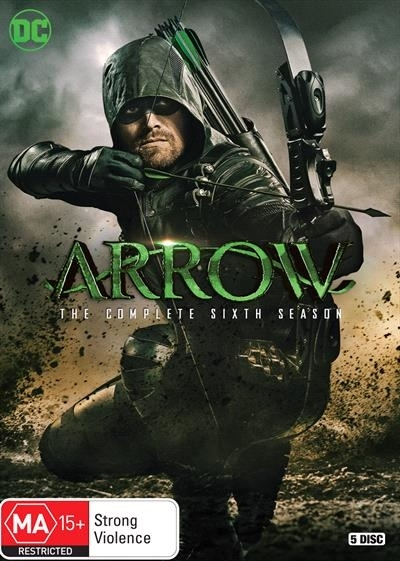 Arrow Season 6 on DVD image