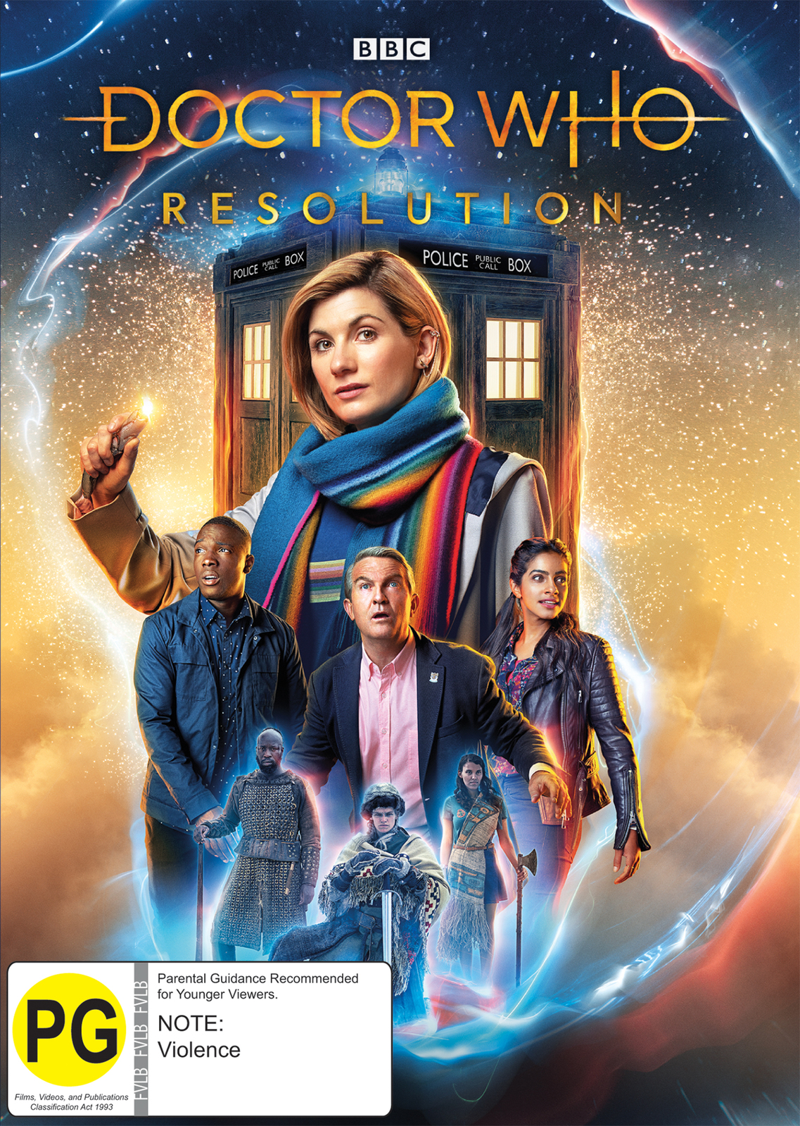Doctor Who: Resolution on DVD image