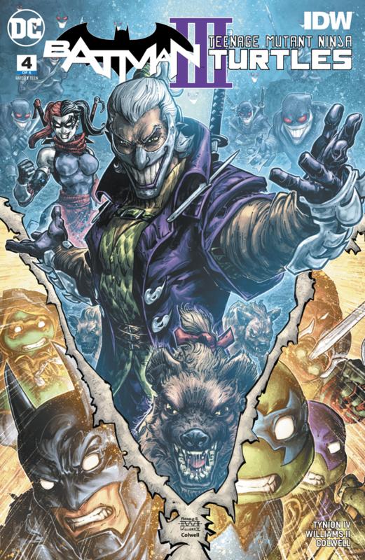 Batman: Teenage Mutant Ninja Turtles III - #4 (Cover A) by James Tynion IV