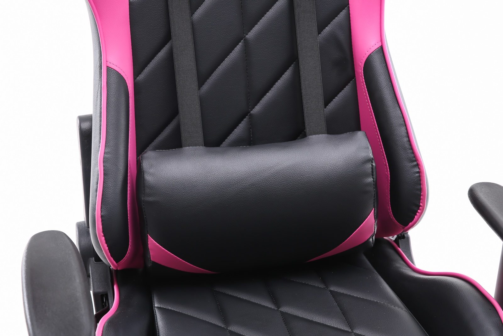 Playmax Elite Gaming Chair - Pink and Black for  image