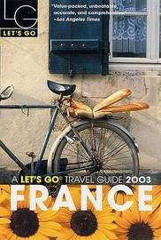 Let's Go France 2003 by Let's Go Inc