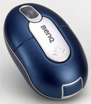 BenQ M310 Wireless Mini Optical Mouse - Blue