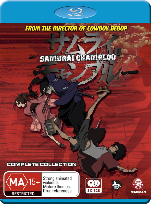 Samurai Champloo - Complete Collection (3 Disc Set) on Blu-ray