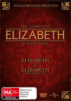 Elizabeth / Elizabeth - The Golden Age (2 Disc Set) on DVD image